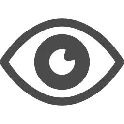 目のフリーアイコン5 アイコン素材ダウンロードサイト Icooon Mono 商用利用可能なアイコン素材が無料 フリー ダウンロードできるサイト