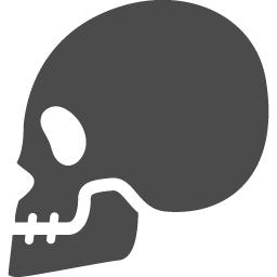 頭蓋骨アイコン8 アイコン素材ダウンロードサイト Icooon Mono 商用利用可能なアイコン素材が無料 フリー ダウンロードできるサイト