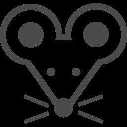 ねずみのフリーイラスト3 アイコン素材ダウンロードサイト Icooon Mono 商用利用可能なアイコン素材が無料 フリー ダウンロードできるサイト