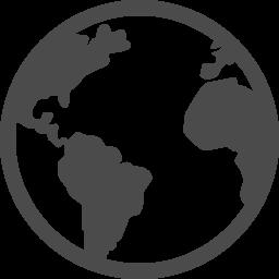 地球アイコン9 アイコン素材ダウンロードサイト Icooon Mono 商用利用可能なアイコン素材が無料 フリー ダウンロードできるサイト