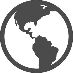 地球の無料アイコン10 アイコン素材ダウンロードサイト Icooon Mono 商用利用可能なアイコン素材が無料 フリー ダウンロードできるサイト