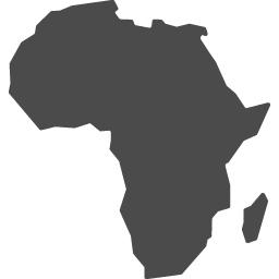 アフリカ大陸アイコン アイコン素材ダウンロードサイト Icooon Mono 商用利用可能なアイコン素材が無料 フリー ダウンロードできるサイト