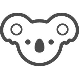 コアラのフリーイラスト1 アイコン素材ダウンロードサイト Icooon Mono 商用利用可能なアイコン素材が無料 フリー ダウンロードできるサイト