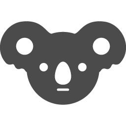 コアラアイコン2 アイコン素材ダウンロードサイト Icooon Mono 商用利用可能なアイコン素材が無料 フリー ダウンロードできるサイト