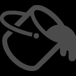 ペンキの無料アイコン1 アイコン素材ダウンロードサイト Icooon Mono 商用利用可能なアイコン素材が無料 フリー ダウンロードできるサイト