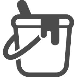 ペンキのフリーイラスト4 アイコン素材ダウンロードサイト Icooon Mono 商用利用可能なアイコン素材が無料 フリー ダウンロードできるサイト