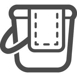 バケツアイコン2 アイコン素材ダウンロードサイト Icooon Mono 商用利用可能なアイコン素材が無料 フリー ダウンロードできるサイト