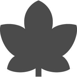 もみじアイコン1 アイコン素材ダウンロードサイト Icooon Mono 商用利用可能なアイコン素材が無料 フリー ダウンロードできるサイト
