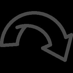 矢印アイコン アイコン素材ダウンロードサイト Icooon Mono 商用利用可能なアイコン素材が無料 フリー ダウンロードできるサイト