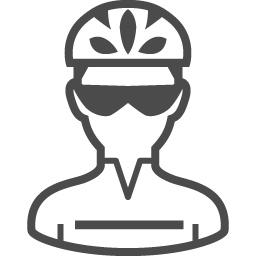 ロードレーサーのフリーイラスト1 アイコン素材ダウンロードサイト Icooon Mono 商用利用可能なアイコン 素材が無料 フリー ダウンロードできるサイト