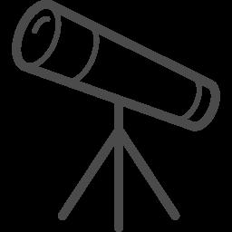 望遠鏡アイコン5 アイコン素材ダウンロードサイト Icooon Mono 商用利用可能なアイコン素材が無料 フリー ダウンロードできるサイト