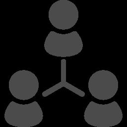 人脈アイコン1 アイコン素材ダウンロードサイト Icooon Mono 商用利用可能なアイコン素材が無料 フリー ダウンロードできるサイト