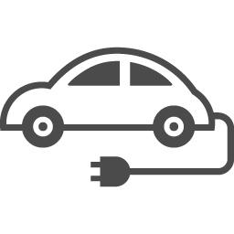 電気自動車のフリーイラスト1 アイコン素材ダウンロードサイト Icooon Mono 商用利用可能なアイコン素材が無料 フリー ダウンロードできるサイト