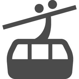 ロープウェーアイコン5 アイコン素材ダウンロードサイト Icooon Mono 商用利用可能なアイコン素材が無料 フリー ダウンロードできるサイト