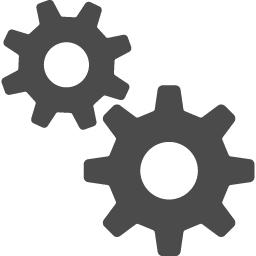 歯車アイコン10 アイコン素材ダウンロードサイト Icooon Mono 商用利用可能なアイコン素材が無料 フリー ダウンロードできるサイト