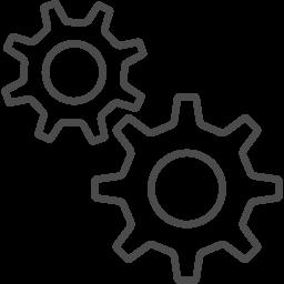歯車アイコン11 アイコン素材ダウンロードサイト Icooon Mono 商用利用可能なアイコン素材が無料 フリー ダウンロードできるサイト