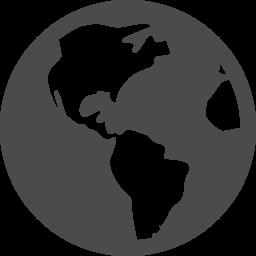 地球アイコン13 アイコン素材ダウンロードサイト Icooon Mono 商用利用可能なアイコン素材が無料 フリー ダウンロードできるサイト