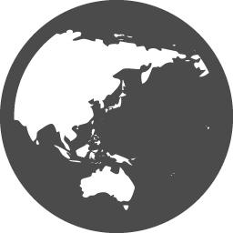 地球フリー素材14 アイコン素材ダウンロードサイト Icooon Mono 商用利用可能なアイコン素材が無料 フリー ダウンロードできるサイト