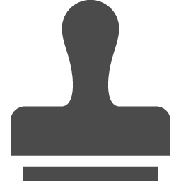 判子のフリー素材1 アイコン素材ダウンロードサイト Icooon Mono 商用利用可能なアイコン素材が無料 フリー ダウンロードできるサイト