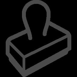 判子アイコン3 アイコン素材ダウンロードサイト Icooon Mono 商用利用可能なアイコン素材が無料 フリー ダウンロードできるサイト