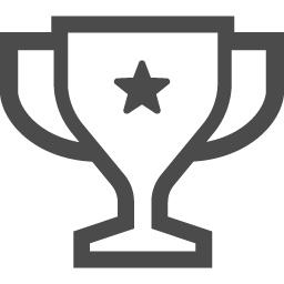 トロフィーのフリー素材 アイコン素材ダウンロードサイト Icooon Mono 商用利用可能なアイコン素材が無料 フリー ダウンロードできるサイト