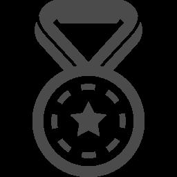 金メダルの無料イラスト 1 アイコン素材ダウンロードサイト Icooon Mono 商用利用可能なアイコン素材が無料 フリー ダウンロードできるサイト
