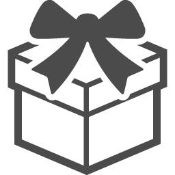 プレゼントアイコン14 アイコン素材ダウンロードサイト Icooon Mono 商用利用可能なアイコン素材が無料 フリー ダウンロードできるサイト