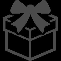 Gift Icon 14 アイコン素材ダウンロードサイト Icooon Mono 商用利用可能なアイコン 素材が無料 フリー ダウンロードできるサイト