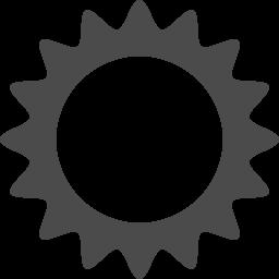 太陽アイコン8 アイコン素材ダウンロードサイト Icooon Mono 商用利用可能なアイコン素材が無料 フリー ダウンロードできるサイト