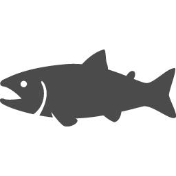 鮭アイコン1 アイコン素材ダウンロードサイト Icooon Mono 商用利用可能なアイコン素材が無料 フリー ダウンロードできるサイト