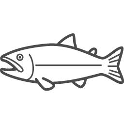 鮭アイコン2 アイコン素材ダウンロードサイト Icooon Mono 商用利用可能なアイコン素材が無料 フリー ダウンロードできるサイト
