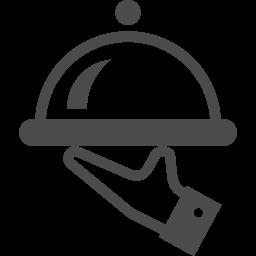 ルームサービスアイコン2 アイコン素材ダウンロードサイト Icooon Mono 商用利用可能なアイコン 素材が無料 フリー ダウンロードできるサイト