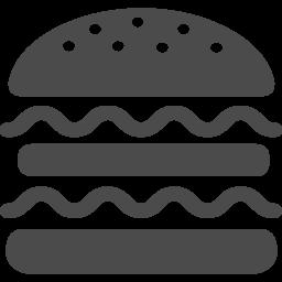 ハンバーガーの無料アイコン3 アイコン素材ダウンロードサイト Icooon Mono 商用利用可能なアイコン 素材が無料 フリー ダウンロードできるサイト