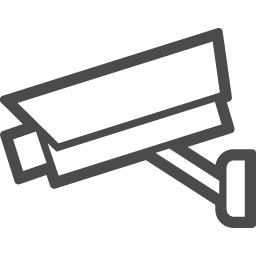 監視カメラの無料イラスト4 アイコン素材ダウンロードサイト Icooon Mono 商用利用可能なアイコン 素材が無料 フリー ダウンロードできるサイト