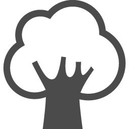 木のフリーアイコン アイコン素材ダウンロードサイト Icooon Mono 商用利用可能なアイコン素材が無料 フリー ダウンロードできるサイト