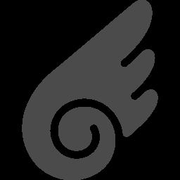 羽のフリーアイコン2 アイコン素材ダウンロードサイト Icooon Mono 商用利用可能なアイコン素材が無料 フリー ダウンロードできるサイト