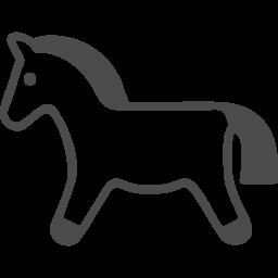 馬アイコン4 アイコン素材ダウンロードサイト Icooon Mono 商用利用可能なアイコン素材が無料 フリー ダウンロードできるサイト