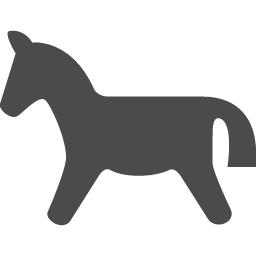 馬アイコン5 アイコン素材ダウンロードサイト Icooon Mono 商用利用可能なアイコン素材が無料 フリー ダウンロードできるサイト