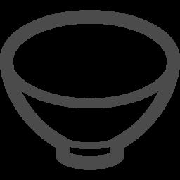 お茶碗アイコン アイコン素材ダウンロードサイト Icooon Mono 商用利用可能なアイコン素材が無料 フリー ダウンロードできるサイト
