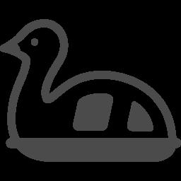 スワンボートの無料イラスト3 アイコン素材ダウンロードサイト Icooon Mono 商用利用可能なアイコン素材が無料 フリー ダウンロードできるサイト
