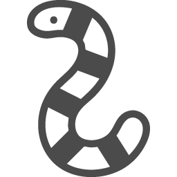 毒ヘビの無料イラスト アイコン素材ダウンロードサイト Icooon Mono 商用利用可能なアイコン素材が無料 フリー ダウンロードできるサイト