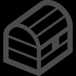 宝箱のフリーアイコン2 アイコン素材ダウンロードサイト Icooon Mono 商用利用可能なアイコン素材が無料 フリー ダウンロードできるサイト