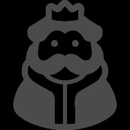 王様の無料イラスト2 アイコン素材ダウンロードサイト Icooon Mono 商用利用可能なアイコン素材が無料 フリー ダウンロードできるサイト