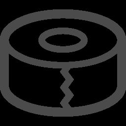 ガムテープアイコン2 アイコン素材ダウンロードサイト Icooon Mono 商用利用可能なアイコン素材 が無料 フリー ダウンロードできるサイト