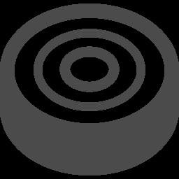 バームクーヘンアイコン1 アイコン素材ダウンロードサイト Icooon Mono 商用利用可能なアイコン素材が無料 フリー ダウンロードできるサイト