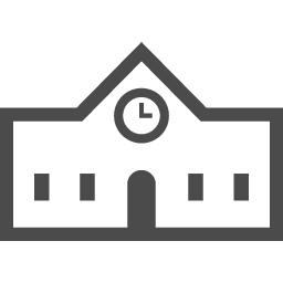 小中高校アイコン3 アイコン素材ダウンロードサイト Icooon Mono 商用利用可能なアイコン素材が無料 フリー ダウンロードできるサイト