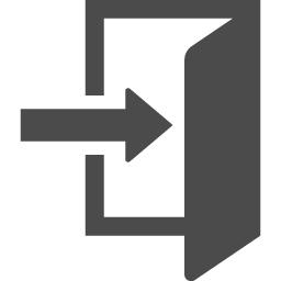 ログインアイコン3 アイコン素材ダウンロードサイト Icooon Mono 商用利用可能なアイコン素材が無料 フリー ダウンロードできるサイト