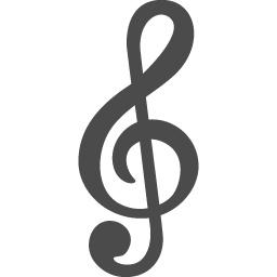 ト音記号1 アイコン素材ダウンロードサイト Icooon Mono 商用利用可能なアイコン素材が無料 フリー ダウンロードできるサイト
