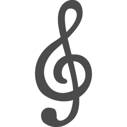 ト音記号2 アイコン素材ダウンロードサイト Icooon Mono 商用利用可能なアイコン素材が無料 フリー ダウンロードできるサイト