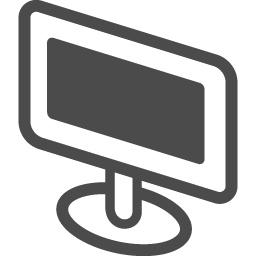 ディスプレイの無料アイコン アイコン素材ダウンロードサイト Icooon Mono 商用利用可能なアイコン素材が無料 フリー ダウンロードできるサイト
